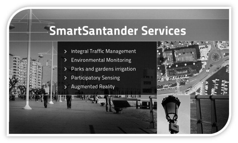 Smart Santander services