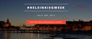 #HELSINKI5GWEEK @ Radisson Blu Seaside | Helsinki | Finland