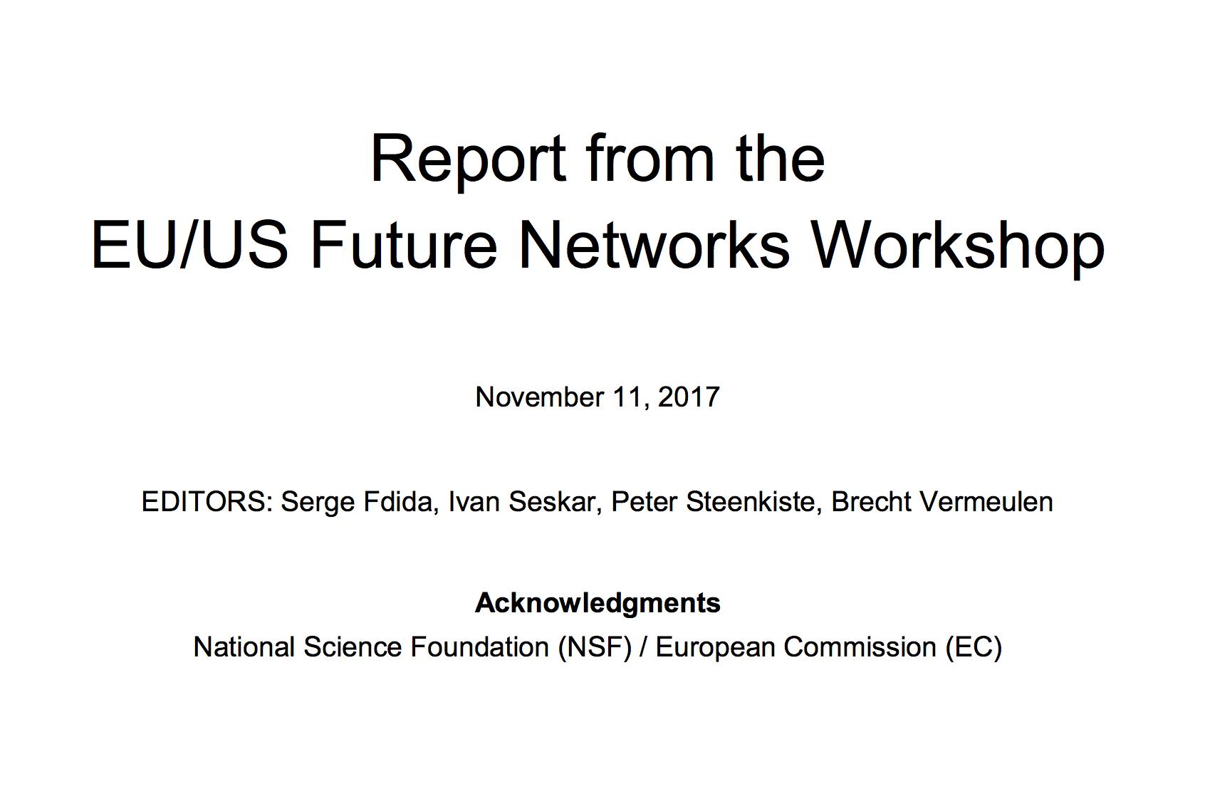 EU-US Future Networks