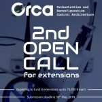 The ORCA project's second Open Call for Extensions announced