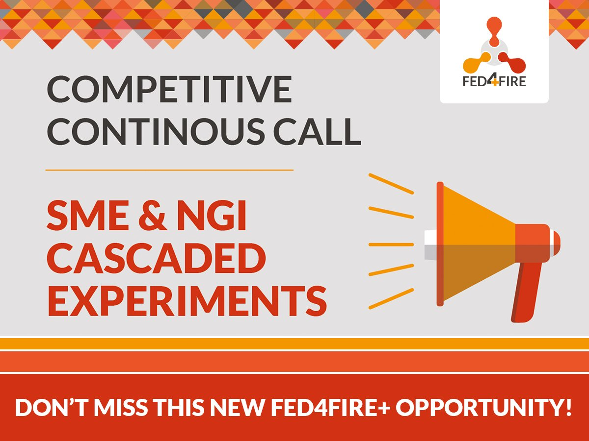 "Continuous Call ""SME & NGI Cascaded Experiments"""