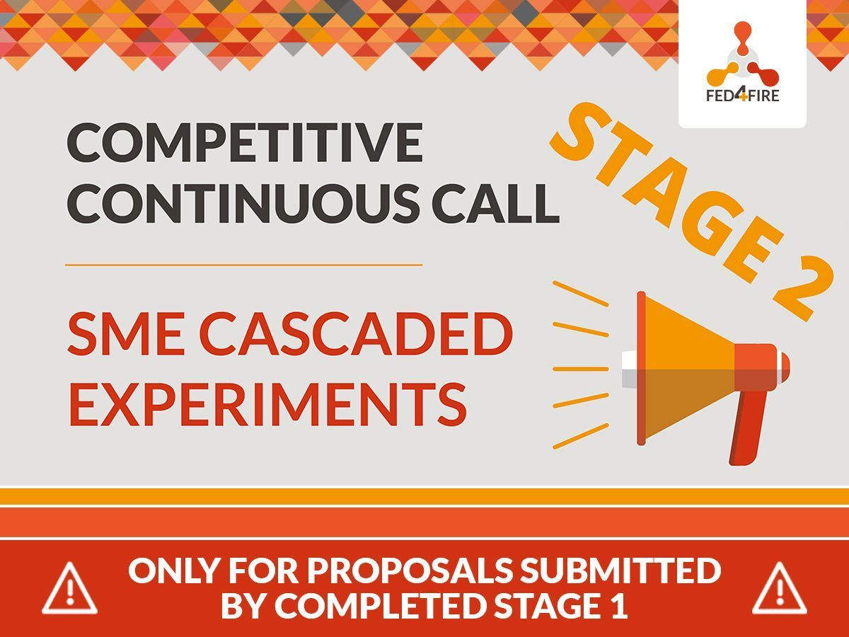 "Continuous Call ""SME Cascaded Experiments"", Stage 2"